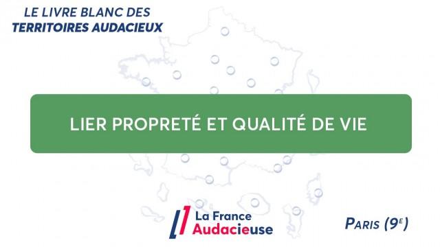 Dans le 9e arrondissement de Paris, lier propreté et qualité de vie