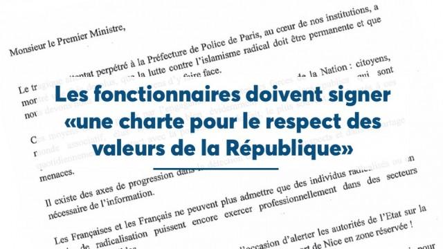 Christian Estrosi propose la signature par les fonctionnaires d'une charte pour le respect des valeurs de la République