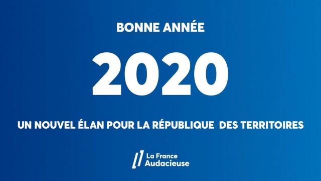 En 2020, votre soutien est essentiel pour donner un nouvel élan à la République des Territoires
