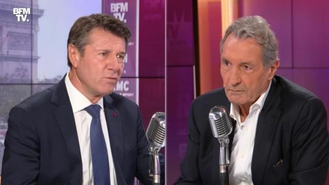 Christian Estrosi était l'invité ce mercredi de Jean Jacques Bourdin