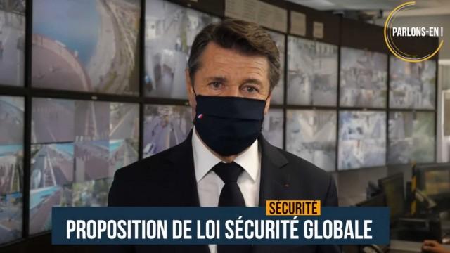 PARLONS-EN !  La proposition de Loi Sécurité Globale