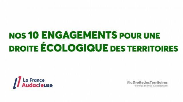 Nos 10 Engagements pour une droite écologique des territoires