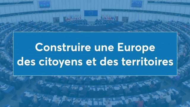 15 propositions pour construire une Europe des citoyens et des territoires