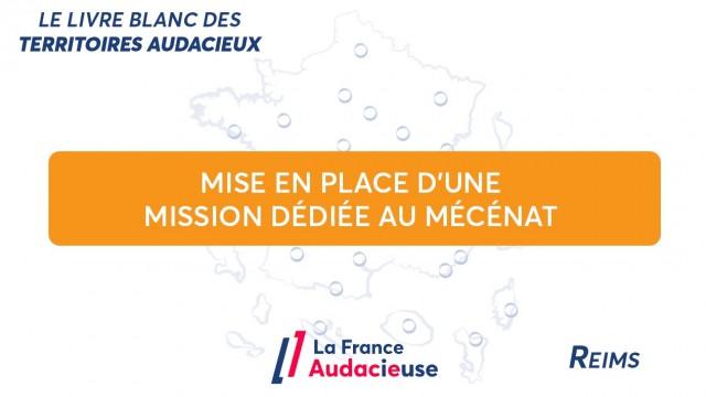À Reims, la mise en place d'une mission permanente dédiée au mécénat