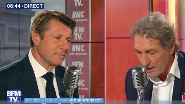 Christian Estrosi était ce mardi 5 juin l'invité de Jean Jacques Bourdin sur RMC et BFMTV