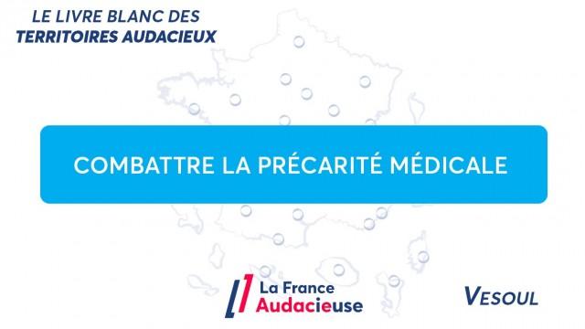 À Vesoul, combattre la précarité médicale grâce aux étudiants en médecine