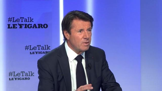 "Christian Estrosi au Talk Figaro: ""Le sujet aujourd'hui, c'est de contenir l'immigration"""
