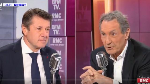 Christian Estrosi était l'invité ce mardi de Jean-Jacques Bourdin sur RMC et BFMTV